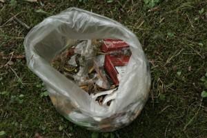 Müll auf dem Gldberg