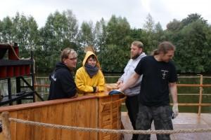 Basti, Nina, Jörn und Norman