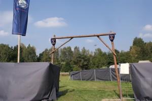 Eingang zum Turnierbereich