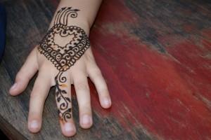 Henna-Tatoo zuerst