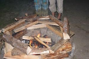 Erweiterung unserer Feuerstellen
