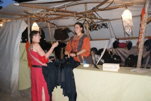 Unsere Garderobe erleichterte vieles.